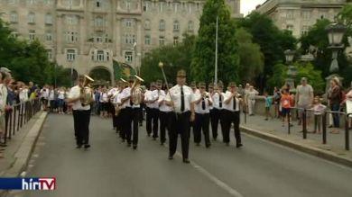 A nándorfehérvári diadalra emlékeztek Budapesten