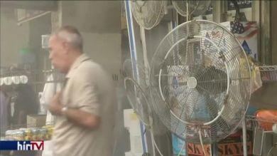 50 celcius feletti hőmérséklet Bagdadban