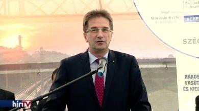 Folytatódik az esztergomi vasútvonal fejlesztése