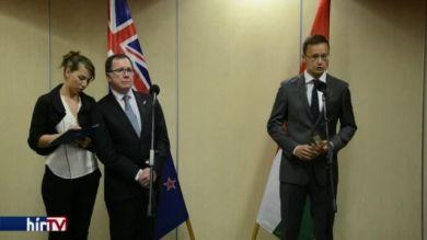 Szijjártó: Szorosabb együttműködés kell Új-Zélanddal
