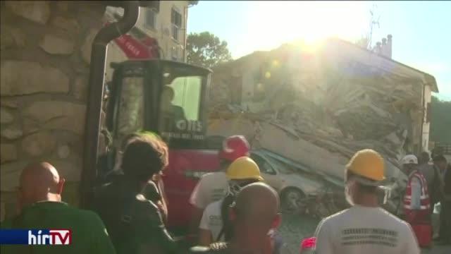 Rengeteg a halott az olaszországi földrengésben