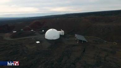 A Marson valószínűsített körülményeket szimulálták Hawaii szigetén