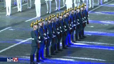 Nemzetközi katonai felvonulás Moszkvában