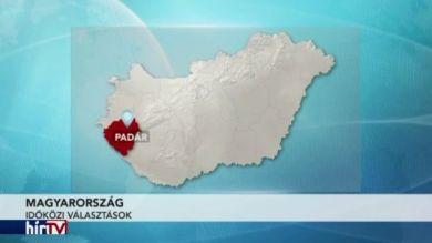 Független polgármestert választottak a Zala megyei Padáron