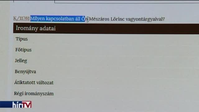 Dömötör: Mészáros Lőrinc nem Orbán strómanja