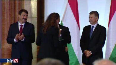 A miniszterelnök kitüntette az olimpikonokat