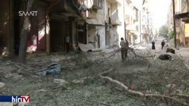 Az ostromlott Aleppo
