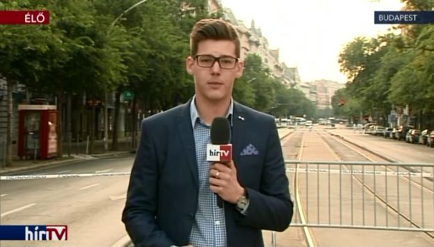 Felrobbant egy üzlethelyiség az Oktogonnál – élő kapcsolás 8 órakor