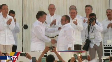 Békét kötöttek a kolumbiai kormány és a kommunista gerillák