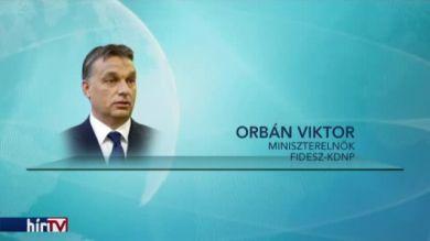 Orbán: Politikai értelemben nincs jelentősége