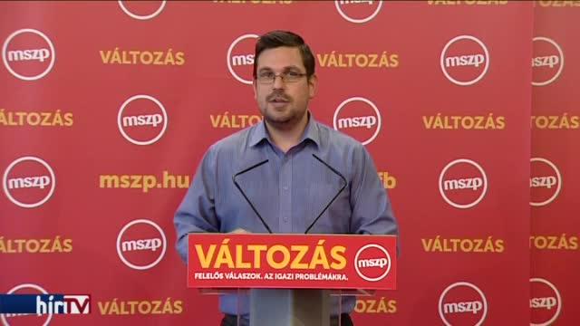 Rogán Antal menesztését követeli az MSZP