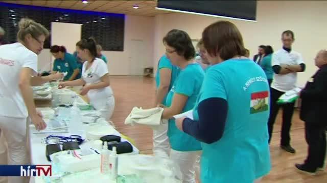 Egészségügyi szakdolgozók szakmai versenyének országos döntője