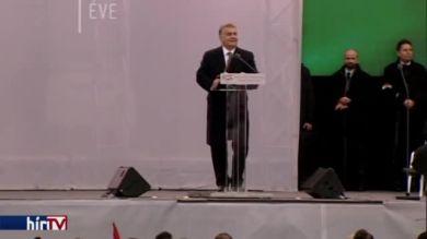 Orbán: A magyarok sohasem mondanak le a szabadságról