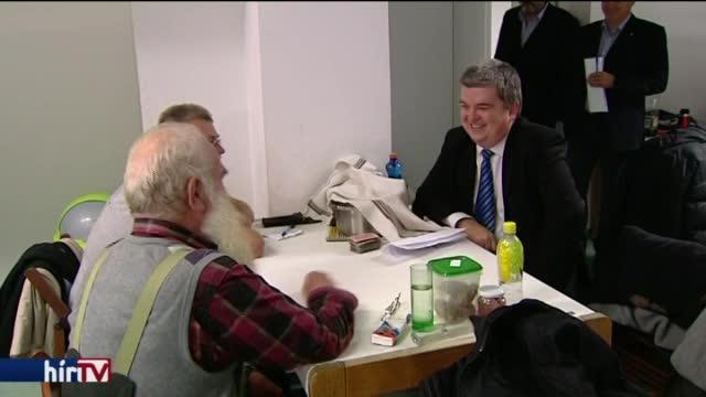 Egyre több a beteg hajléktalan
