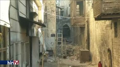 Aleppó történelmi belvárosa