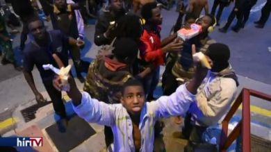 150 afrikai migráns érkezett marokkón keresztül