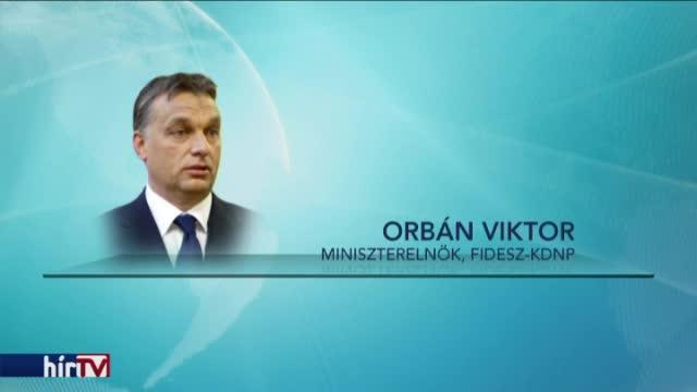 Orbán szerint ő nem tűri, hogy a politikusok lopjanak a közösből