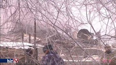 Lezuhant egy török teherszállító repülőgép Kirgizisztánban