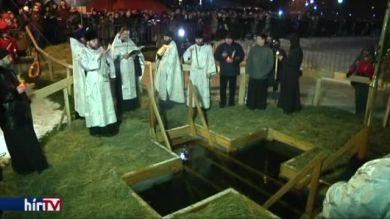 Vízkereszt ünnepe Oroszországban