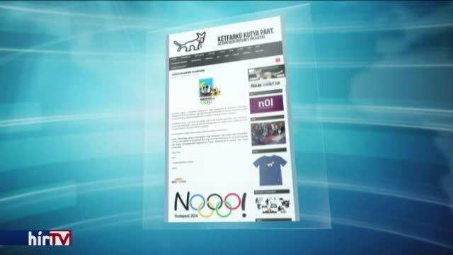Dől a pénz a Magyar Kétfarkú Kutya Párthoz az olimpiaellenes plakátokra