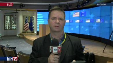 Brüsszelben tárgyal az amerikai alelnök – bejelentkezés 12 óra