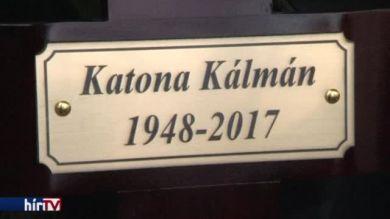 Eltemették Katona Kálmánt