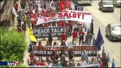Tüntetés a Fülöp-szigeteken