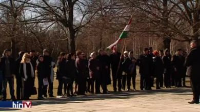 A kommunizmus áldozataira emlékeztek az Új köztemetőben