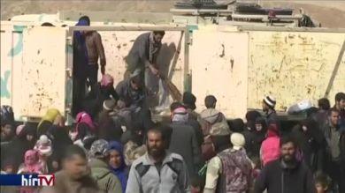 Ezrek menekülnek Moszulból