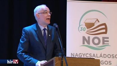 Balog Zoltán a házasságról - A Nagycsaládosok Országos Egyesületének ünnepi közgyűlése
