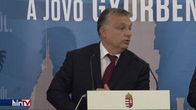 Orbán: Szembe kell nézni a magyar demográfiai válsághelyzettel