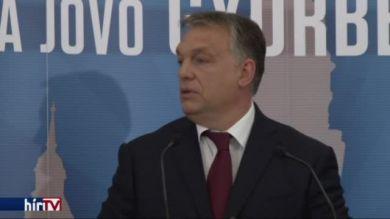 Orbán: A Modern városok program nem egy jóléti állam költekezése, hanem befektetés