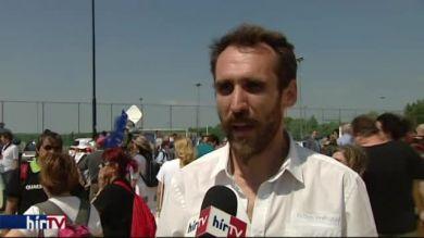 Vágó Gábor a felcsúti tüntetésről