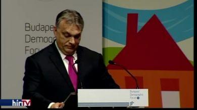 Orbán Viktor beszéde a Családok budapesti világtalálkozóján
