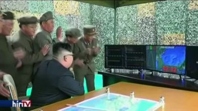 Ismét ballisztikus rakétát lőtt ki Észak-Korea