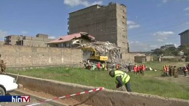 Házomlás Kenyában