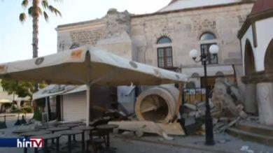 Földrengés Kos szigetén