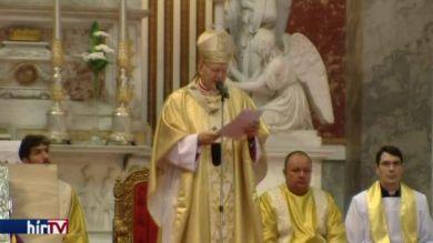 Nagyboldogasszony-napi szentmise az Esztergomi Bazilikában