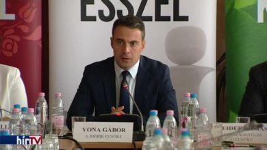 Vona Gábor beszéde a Nyugdíjas-kerekasztal ülésén
