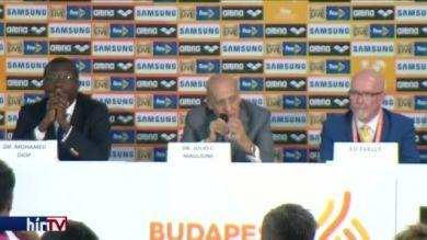 Vizes vb: a FINA elnöke milliárdos nézettségről beszél