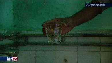 Büdös és ihatatlan a víz a makói térségben