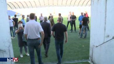Stadionbejárást tartottak Zalaegerszegen