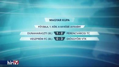 Nyert a Ferencváros