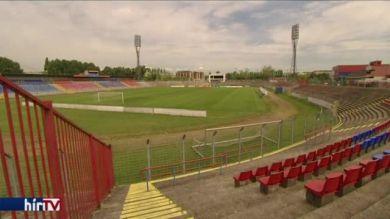 Késik a Bozsik Stadion felújítása