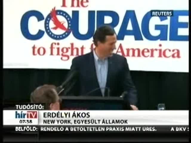 Santorum: A konzervativizmus él, és jól van