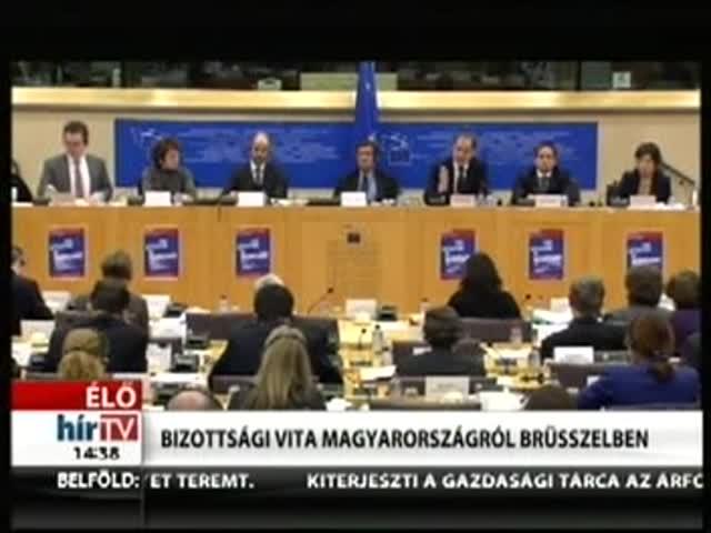 Bizottsági vita Magyarországról Brüsszelben (1)