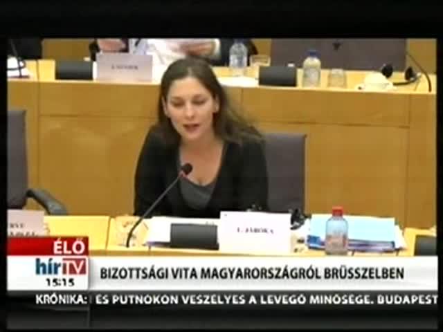Bizottsági vita Magyarországról Brüsszelben (2)