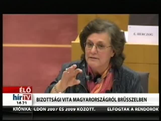 Bizottsági vita Magyarországról Brüsszelben (4)