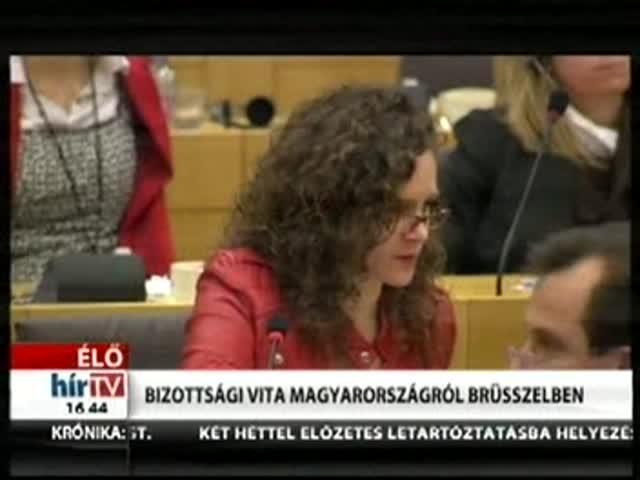 Bizottsági vita Magyarországról Brüsszelben (5)