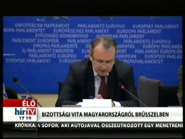 Bizottsági vita Magyarországról Brüsszelben (6)